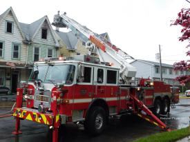 Steelton Borough 1st alarm structure fire. Photo courtesy of D.f. Apparatus Photos.